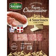 3039050630995 - Socopa - Saucisses au beaufort façon charcutière