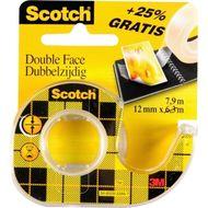 0051131791695 - Scotch - Ruban adhésif double face 7,9m x 12mm