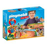 4008789093295 - PLAYMOBIL® Play Map - Pilotes motocross avec support de jeu