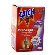 3178041345095 - Catch - Recharge liquide pour diffuseur électrique anti-moustiques 45 Nuits