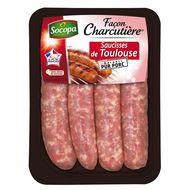 3039050649195 - Socopa - Façon Charcutière Saucisses de Toulouse