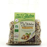 3380380056796 - Ma Vie Sans Gluten - Mix' Céréales Légumineuses/Riz de Camargue, sans gluten, Bio