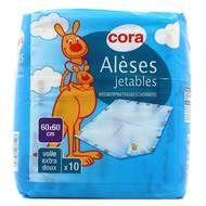 3257984037196 - Cora - Alèses jetables 60 x 60cm
