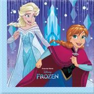 5201184878996 - Disney - Serviettes en papier Reine des neiges 33 x 33 cm