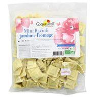 3760098451197 - Coquelicot - Mini ravioli jambon-fromage Bio