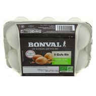 3760099532697 - Bonval - Oeufs bio extra frais