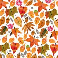 4021766263597 - Paperproducts Design - Serviettes papier feuilles d'automne 33x33 cm