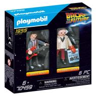 4008789704597 - PLAYMOBIL® Back to the Future - Marty et Dr Brown