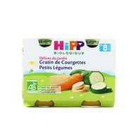 4062300056497 - Hipp - Gratin de courgettes Petits légumes  bio, dès 8 mois