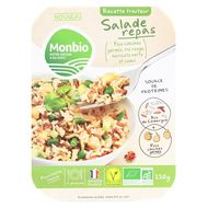 3760201330098 - Monbio - Duo de riz et pois chiches germés