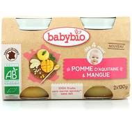 3288131510798 - Babybio - Pomme d'Aquitaine et Mangue bio, dès 4 mois