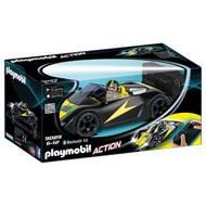 4008789090898 - PLAYMOBIL® Sport & Action - Voiture de course noire radiocommandée