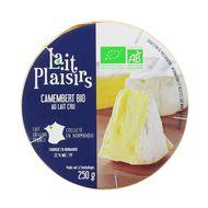 3760099532598 - Lait Plaisirs - Camembert bio au lait cru 45 % MG