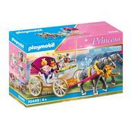 4008789704498 - PLAYMOBIL® Princess - Calèche et couple royal