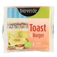4000915100099 - BioVerde - Fromage Toast & Burger bio