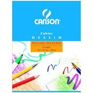 Canson - Cahier de dessin 24 x 32 cm