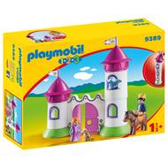 4008789093899 - PLAYMOBIL® 1.2.3 - Château de princesse avec tours empilables