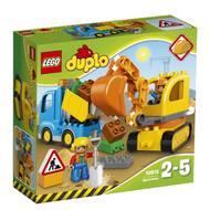 5702015599399 - LEGO® DUPLO® - 10812-  Le camion et la pelleteuse