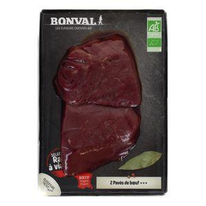 Bonval Pavé de boeuf Bio