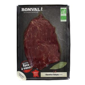 Bonval Bavette d'aloyau de boeuf Bio à griller