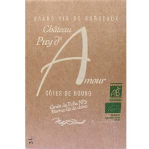 Côtes de Bourg Château Puy d'Amour Bio
