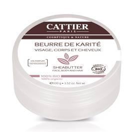 Cattier Beurre de karité Cosmébio