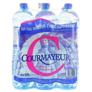Courmayeur Eau minérale naturelle