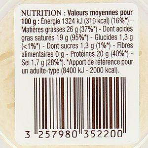 Patrimoine Gourmand Crottin de Chavignol au lait cru