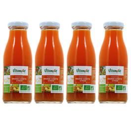 Vitamont Mini Jus Oranges Carottes Citrons Bio
