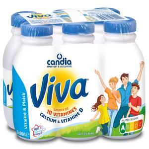 Candia Viva lait UHT vitaminé à 1.2% mg