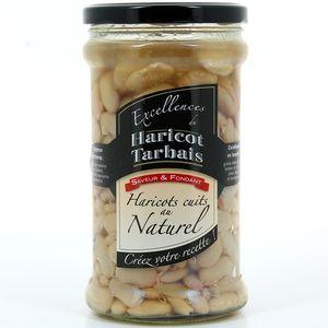 Haricots tarbais IGP LABEL ROUGE cuits au naturel