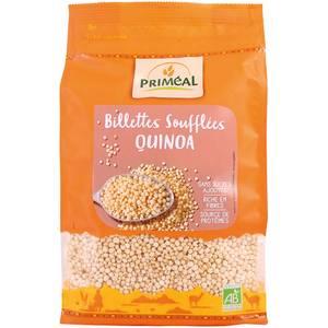 Priméal Quinoa soufflé bio sans sucres ajoutés