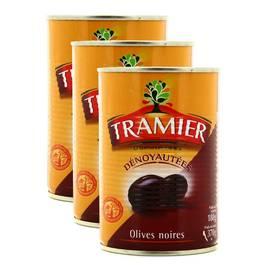 Tramier Olives noires dénoyautées
