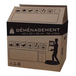 Box And Beyond Carton de déménagement