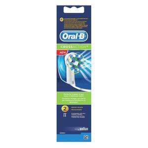 Oral B Recharge brossettes Cross Action le lot de 2