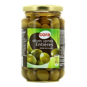 Cora Olives vertes entières