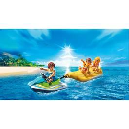 PLAYMOBIL® Family Fun Vacanciers avec jet-ski et banane