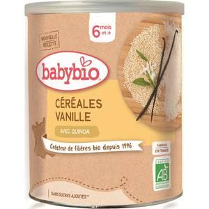 Babybio Céréales Vanille avec Quinoa bio, dès 6 mois