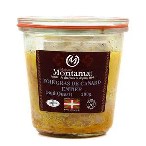 Artisan Charcutier Montamat Foie gras de canard entier du Sud-Ouest