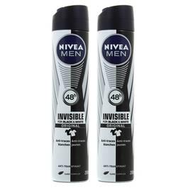 Nivea Men Déodorant invisible for black & white power