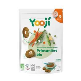 Yooji Purée printanière bio surgelée en portions dès 9 mois