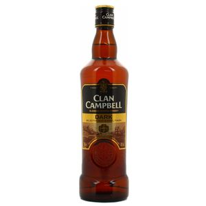 Clan Campbell Dark Blended Scotch Whisky 40°