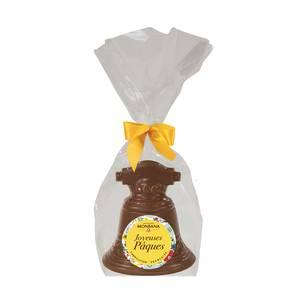 Chocolaterie Monbana Cloche en chocolat au lait