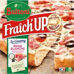 Buitoni Fraich up Pizza so creamy reine blanche jambon olives crème fraîche