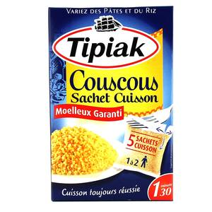 Tipiak Couscous sachets cuisson