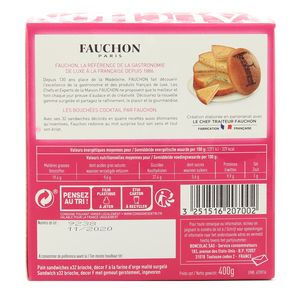 Fauchon Pain surprise brioché- 32 sandwiches exquis - 4 recettes assorties