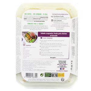 Végétal Gourmand de Pronatura Panés bio de pois chiches et brocolis, au chanvre