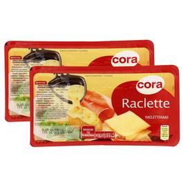 cora fromage raclette tranchette lot de 2 barquettes de 400g. Black Bedroom Furniture Sets. Home Design Ideas