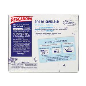 Pescanova Dos de Cabillaud sans peau, sans arête