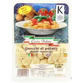 Gnocchi de pomme de terre ,Cusina Italiana,500g